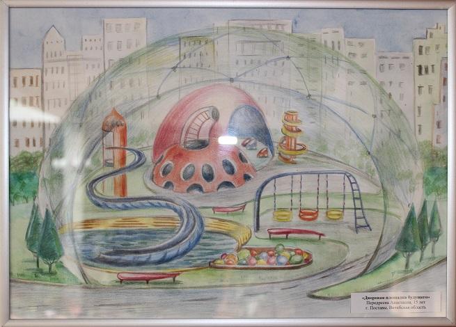 Именинницей, рисунок детский сад будущего